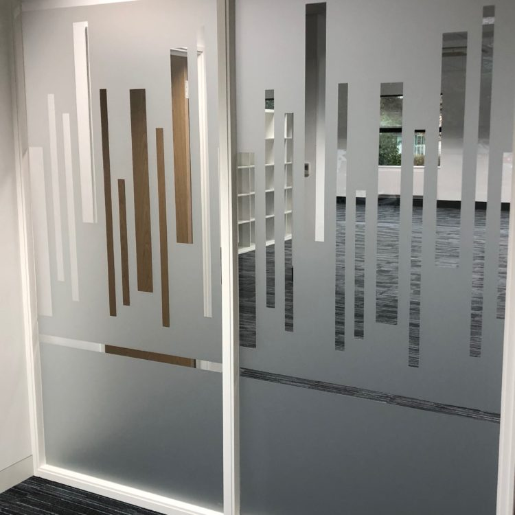 Etched Window Graphics